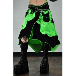 Aquarius Psytrance Rave Cybergoth Wrap Skirt