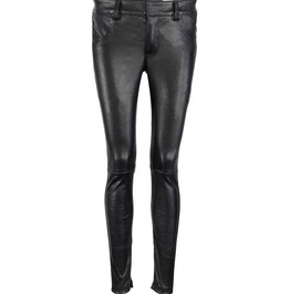 Women Leather Pant Genuine Soft Lambskin Leather Jeans Style Fitted Pant Fo