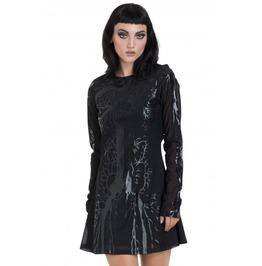 Jawbreaker Clothing Black Hearted Veins Skater Dress