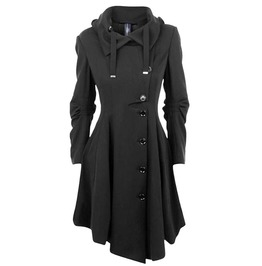 High Fashion Women's Long Vintage Winter Coat