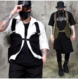 Strap Belt Fashion Hunting Vest 93