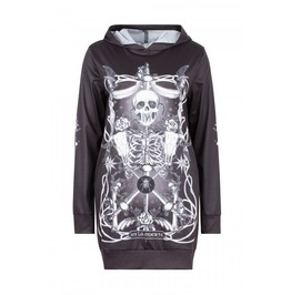 Jawbreaker Clothing Muerte Tarot Ladies Hoodie