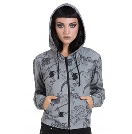 Jawbreaker Clothing Grey Alchemy Hoodie