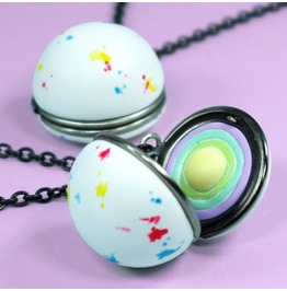 Jawbreaker Locket With Candy Layers Inside