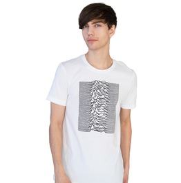 Pulsar Artwork As Used By Joy Division On Unknown Pleasures T Shirt Tee Top