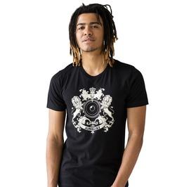 Junglist Crest T Shirt Jungle Massive Coat Of Arms Lion Drum & Bass Tee Top