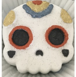 Sugar Skull Chibi Bath Bomb Day Of The Dead Gift Box