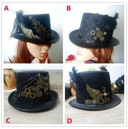 Handmade Steampunk Top Hats