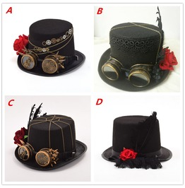 Handmade Steampunk Top Hats For Women