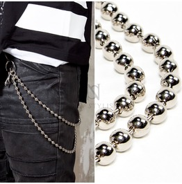 Double Metal Beads Wallet Chain 41