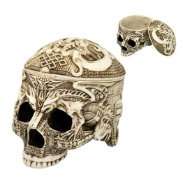 Tibetian Skull Box