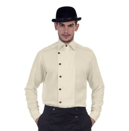 Ulysses Steampunk Neo Victorian Long Sleeves Button Up Shirt