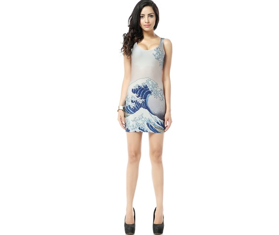 beautiful_wave_print_white_bodycon_dress_tank_tops_dresses_4.jpg