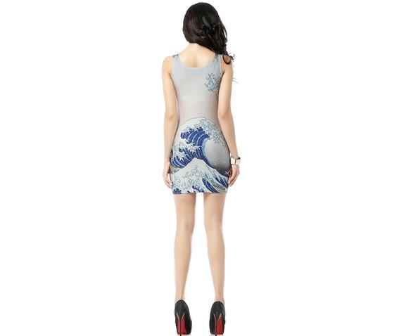 beautiful_wave_print_white_bodycon_dress_tank_tops_dresses_2.jpg