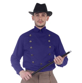 Airship Victorian Double Breasted Long Sleeves Shirt