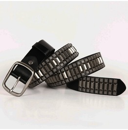 Punk Rock Rivet Deco Faux Leather Belts
