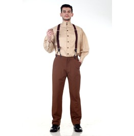 Classic Steampunk Pants Brown