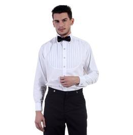 Classic Victorian Slim Fit Long Sleeves Gentleman Shirt