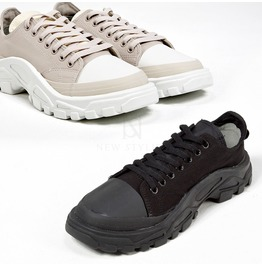 Rubber Gear Sole Lace Up Sneakers 445