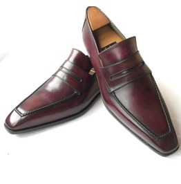 Handmade Men Dark Burgundy Leather Shoes, Men Formal Leather Shoes For Men
