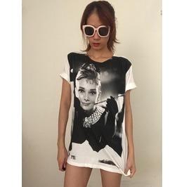 Audrey Fashion Pop Rock T Shirt M