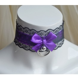 Gothic Collar * Dark Space * Galaxy Purple & Black Goth Choker