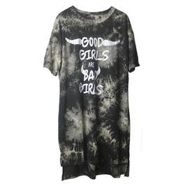 "Punk Rock Women's ""Good Or Bad"" Vintage Long Shirt"