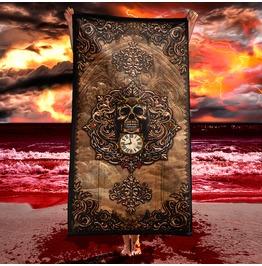Memento Mori Baroque Reaper's Skull Towel / Gothic Beach Towel