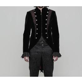 Steampunk Victoria Coat Gothic Vampire Aristocrat Elegant Wedding Jacket