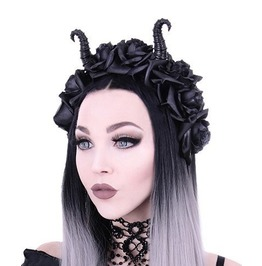 Restyle Clothing Horns And Roses Crown Rst018