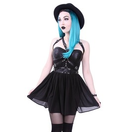 Restyle Clothing Harness Dress With O Rings Rst025