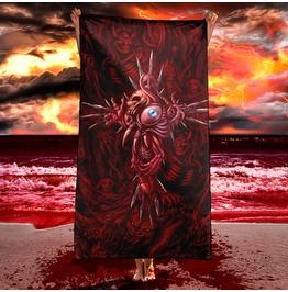 Gore Cross Horror Beach Towel