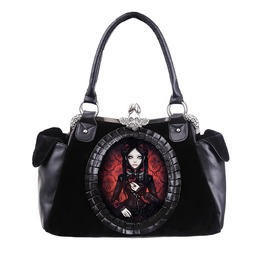 Restyle Clothing Red Doll Hand Bag Rst037