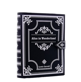 Restyle Clothing Alice In Wonderland Book Hand Bag Rst041