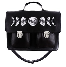 Restyle Clothing Moon Cycle Messenger Goth Bag Rst053