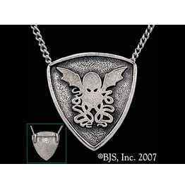 Cthulhu Gothic Horror Story Hp Lovecraft Necklace Made Of Sterling Silver