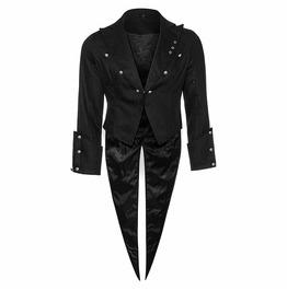 Steampunk Gentlemen Tailcoat Mens Gothic Wedding Tailcoat Jacket