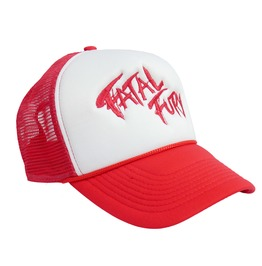 King Of Fighters Terry's Fatal Fury Logo Trucker Hat Chaccnw04