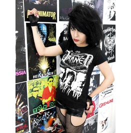 The Damned Smash It Up Blouse T Shirt