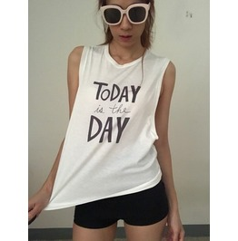 Today Is The Day Fashion Punk Rock Tank Top