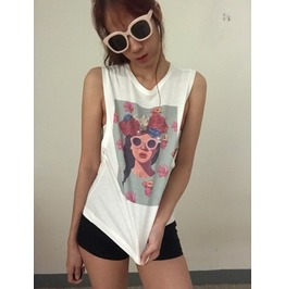 Hippie Cool Chic Fashion Punk Rock Tank Top
