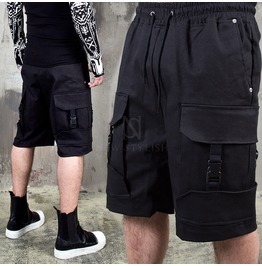 4 Buckled Cargo Banding Shorts 107