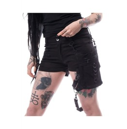 Women Isabella Gothic Skirt Steampunk Style Mini Sexy Shorts Skirt Badass Ba