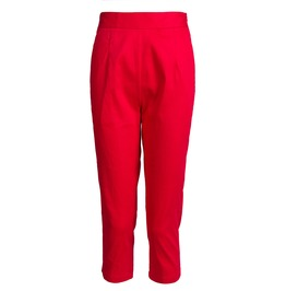 Women's High Waist Slim Fitted Trouser Pants