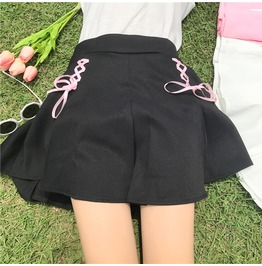 Lace Up Skirt / Falda Lazo Wh495