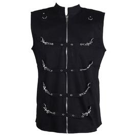 Men Gothic Dead Thread Vest