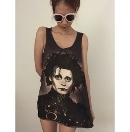 Johnny Depp Fashion Unisex Tank Top