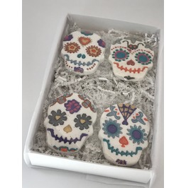 Sugar Skull Bath Bomb Day Of The Dead Gift Box