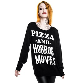 Killstar Horror Stayin In Knit Sweater Ks5