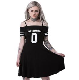 Killstar 0 Expectations Bardot Off Shoulder Dress Goth Witchy Occult Ks4